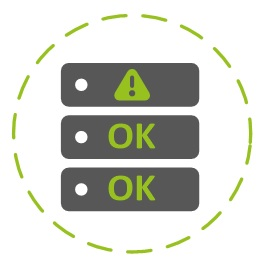 Immagine di un volume RAID con dischi che lavorano come un insieme senza perdite di dati anche in caso di guasto ad uno o più dischi fisici