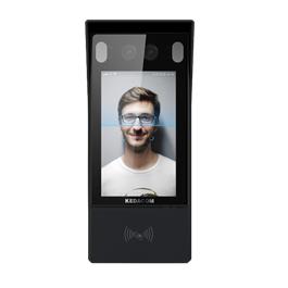 Immagine Kedacom KSCA120 telecamera ip door station per controllo accessi con riconoscimento facciale, RFID, temperatura e mascherina