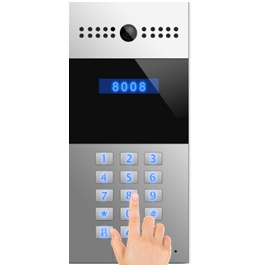 Immagine display lcd del citofono Ip Video Intercom Data Lab DIVIR27A