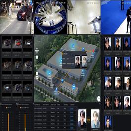 Immagine interfaccia utente AI NVR Border Collie di  Kedacom per lettura targhe