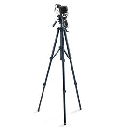 Immagine della telecamera termica KFY2020-T200-HT di Kedacom su un cavalletto per un fissaggio veloce e preciso