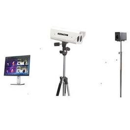 Telecamera bi-spettrale per controllo della febbre e misurazione della temperatura corporea dal video ad elevata precisione, completa di blackbody, pc all-in-one con display 17