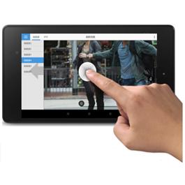 Immagine dell'applicazione mobile app per l'accesso remoto ai sistemi mobile di Kedacom