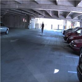 Immagine WDR per aree esterne e perimetrali fortemente illuminate dalla luce esterna e dal sole