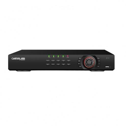 Registratore ibrido Data Lab DXVR 16 canali bnc 2 MP oppure in rete fino a 8 MP