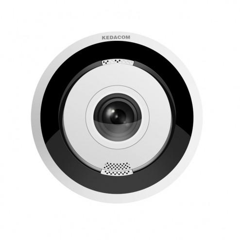 Telecamera ip 4K 12 megapixel fisheye Kedacom IPC2860-HN-SIR15-L0185