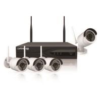 Data Lab D1SKW4CH Starter Kit con Wi-Fi - 4 telecamere ed 1 nvr per quattro canali senza fili