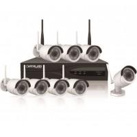 Data Lab D1SKW8CH Starter Kit con Wi-Fi - 8 telecamere ed 1 nvr per otto canali senza fili