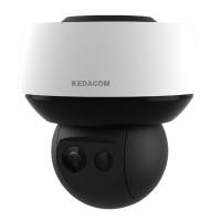 Telecamera ip panoramica 16 (8+8) megapixel 360° con speed dome 8 megapixel integrata Kedacom IPC980-T850-NL